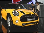 The new 2014 MINI Cooper S features a four-cylinder gasoline engine