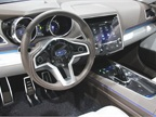 The Subaru Legacy Concept s cockpit includes a large dashboard display