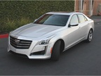 The CTS V-Sport uses a feature known as Magnetic Ride Control that