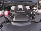 The twin-turbo V-6 produces 420 hp and 430 lb.-ft. of torque.