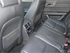 Rear seating accommodates three passengers and can include optional