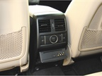 The rear of the center console includes HVAC controls and a BluRay
