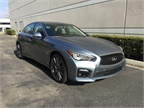 The 2017 Q50 Red Sport 400 offers one of a trio of new engines for the