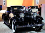 Lincoln showed one of their classic vehicles, a K-Series convertible