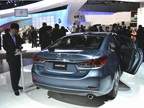 Mazda plans to offer a clean diesel model of its all-new Mazda6.