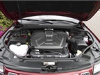 The 3.0-liter V-6 EcoDiesel is paired with an 8-speed automatic