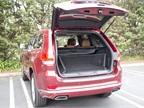 The Grand Cherokee s power liftgate opens when you activate a button