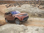 The Discovery uses Terrain Response 2, which offers driving modes for various off-road surfaces.
