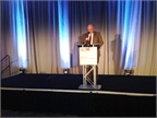 Mike Antich, editor of Automotive Fleet, welcomed attendees to the