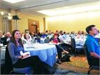 Conference attendees listened to Watson s keynote.