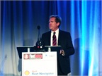 Mike Watson, Shell s global road safety manager, discussed the