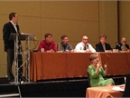 Government Fleet s Publisher Eric Bearly moderates a panel on fleet