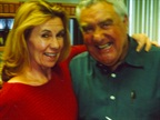 Ed with his longtime assistant, Gloria Penrod.