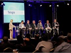 During a panel discussion led by Susan Heystee of Telogis,