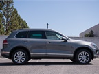 The Touareg is 188.8 inches in total length, making it slightly longer