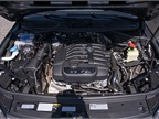 The Touareg is powered by a 3.6L VR6. No other engine options are