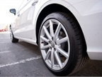 The TDI s 18-inch wheels include 225/45 all-season tires.