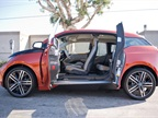 The i3 uses  coach doors  and doesn t need a B-pillar.