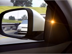 A blind spot information system (BLIS) available on the 2014 S60 and