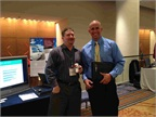 ZoomSafer s table at the 2012 Fleet Safety Conference.