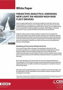 Predictive Analytics Shedding New Light On Hidden High