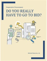 Cooperative Procurement: Do You Really Have to Go to Bid?